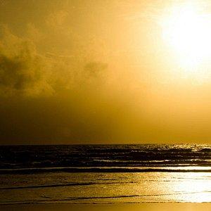Sunset at Betalbatim beach..