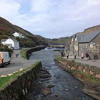 The picturesque fishing village of Boscastle
