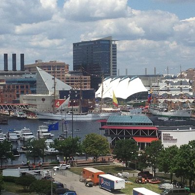 Baltimore Inner Harbor.