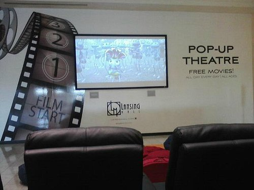 Pop Up Theater (free movies till Spring 2014)