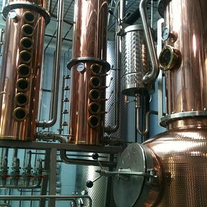 Our copper still and columns are made by a 5th generation still maker!