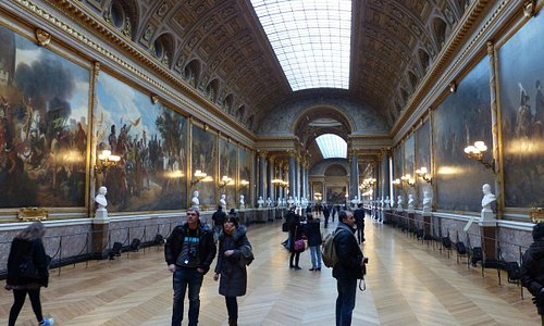 The Battles Gallery at Versailles