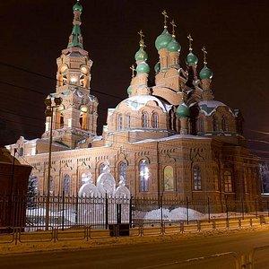 Челябинск Свято-Троицкая церковь XIX век