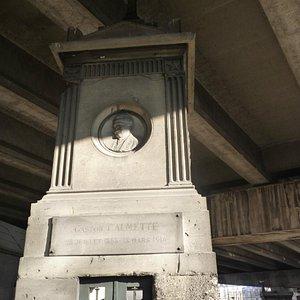 Tombe de Gaston Calmette
