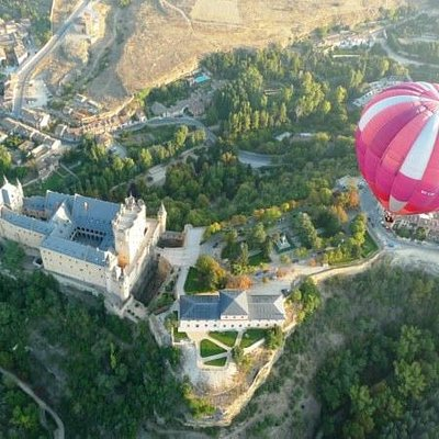 Over the Alcazar castle