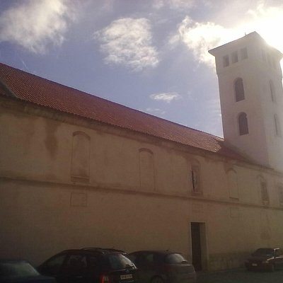 View from behind the church