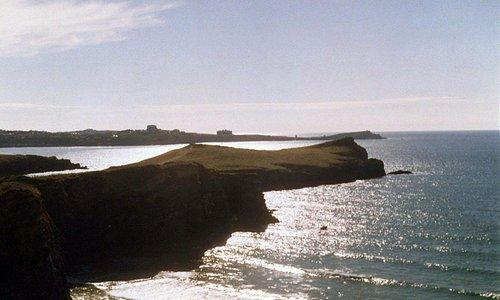 Porth Headland At Sunset
