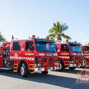 Fire4Hire - Fleet of 4 x Identical Fire Trucks!