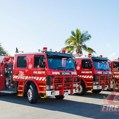 Fire4Hire - Fleet of 4 x Identical Fire Trucks!
