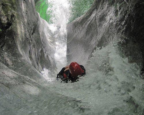 Valbianca, adrenalinico toboga -  Valle Anzasca Monte Rosa