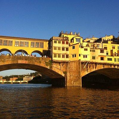 Ponte Vecchio when the sun shines!