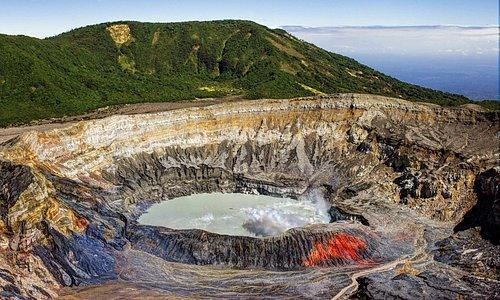 Poas Volcano on Christmas Day, 2013.