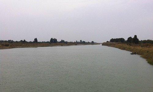 Euphrates in Dhi Qar 2013