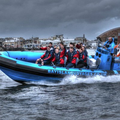 Ultimate fast speed boats in Cardiff Bay