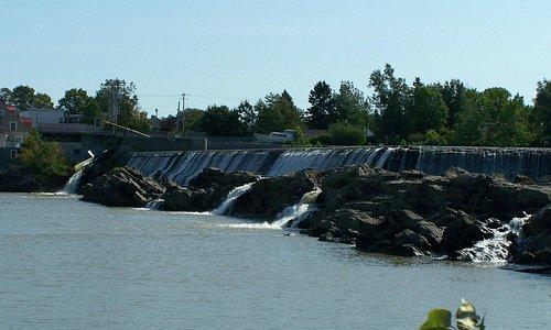 Les chutes de la Rivière-du-Sud, Montmagny