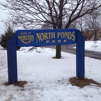 Front of North Ponds Park