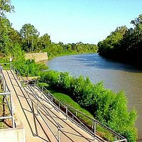Riverfront Park, Wharton Tx, along the Colorado River. A great place for parties or a picnic lun