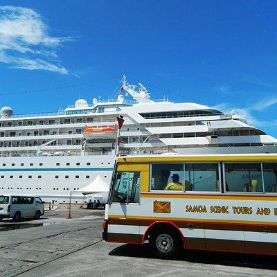Samoa Scenic & Amadea Cruise ship
