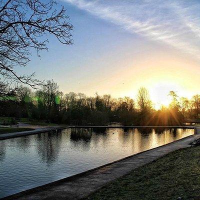 Abington park lake