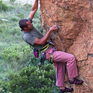 Rock climb Eagle Mountain