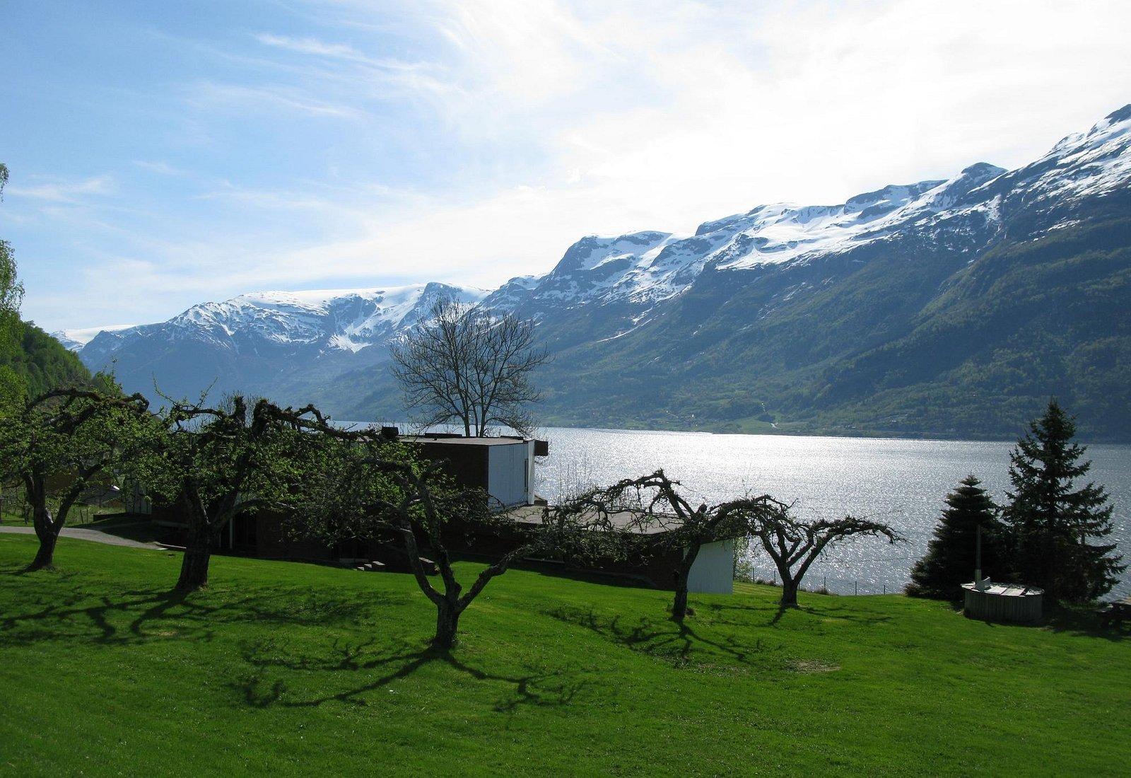 Utsikt fra Hardanger Hostel