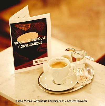 Conversation Menu of the Vienna Coffeehouse Conversations