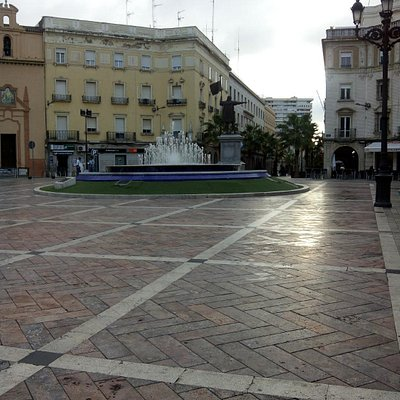 Plaza De Las Monjas.Huelva