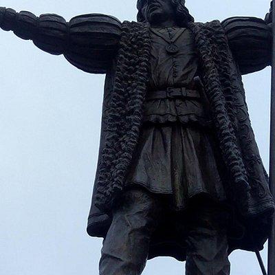Monumento a Colon ,Plaza de las Monjas.Huelva