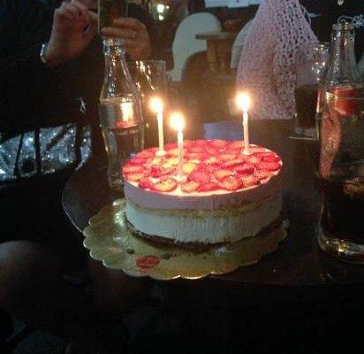 Birthday cake from Jo xx