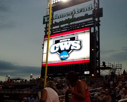 TD Ameritrade Park, Home of the NCAA Mens College World Series and Creighton University Baseball