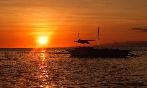 Sunset at Paliton Beach