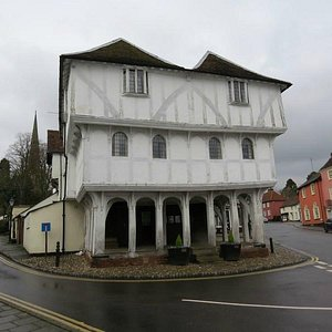 Half-timbered structure
