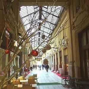 Galleria Umberto I: Torino: Italia: scorcio natalizio