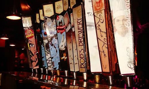 Many Craft Beer Choices