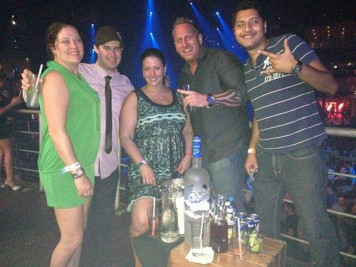 The City. Cancun Jan 31st. 4.5 liter of Grey Goose