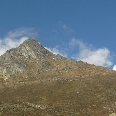 Kyanjin Ri Peak seen from Kyanjin Gumba