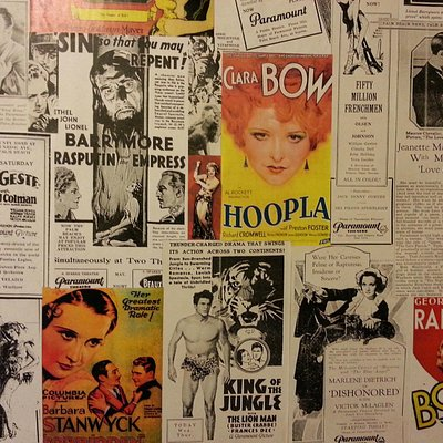 Ancient posters, ads, articles