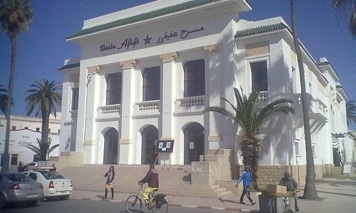 Theatre Afifi from the front and side