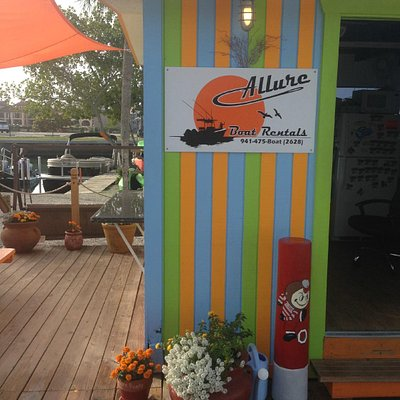 The shanty at ALLURE BOAT RENTALS