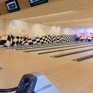 piste da bowling
