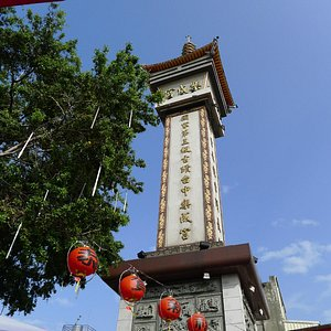 outlook of the temple tower