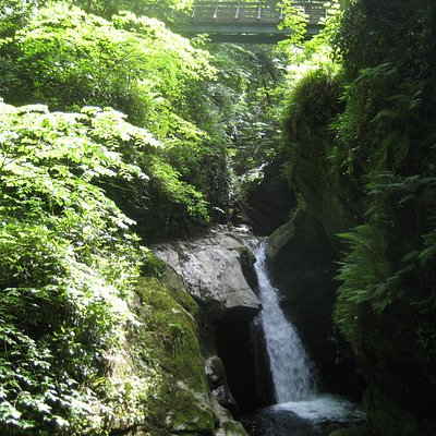 Waterfall in Glen Maye