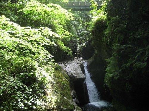Waterfall in Glen Maye
