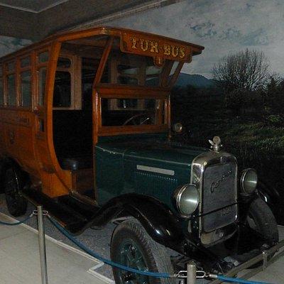 Einer der ersten Busse der Fa. TUR-Bus
