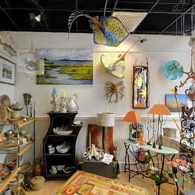 Paintings, art furniture, sculpture hand crafted by people we know