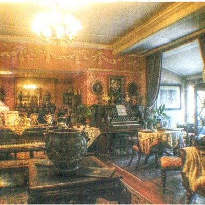 The Drawing room at the museum