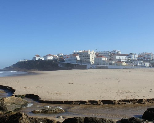 The west coast of Lisbon..