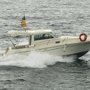 Es un barco fantástico para la pesca de todo tipo