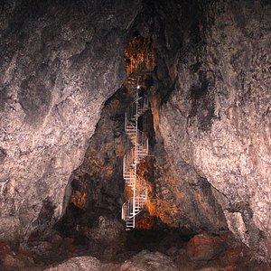 Taken deep inside the cave.