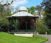 Roker Park's Victorian bandstand